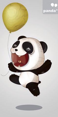 Panda ballon..