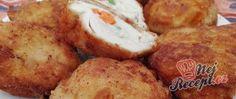 Recept Smažená kuřecí prsa plněná zeleninou Baked Potato, French Toast, Potatoes, Baking, Breakfast, Ethnic Recipes, Morning Coffee, Potato, Bakken