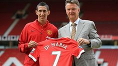 Angel Di Maria, Man United no.7