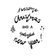 The best of Christmas wishes! ~ Awesome Christmas and a splendid new year! ~ Frau K aus D - Vera K creative living