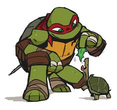 Raph and Spike :)