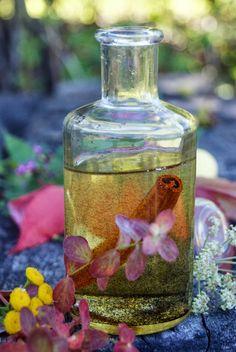 Waniliowo-cynamonowy olejek do kąpieli i masażu.