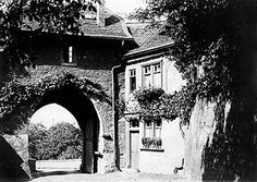 """The gates to Friedberg Castle during Tsarist Russian times.    """"AL"""""""
