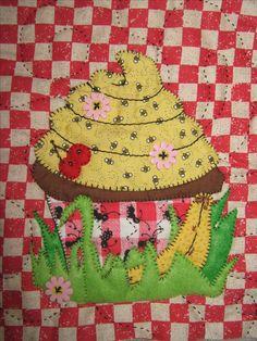 June Panel - Cupcake Quilt