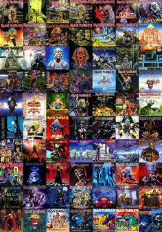 Iron Maiden Artwork Collection by BLZofOZZ.deviantart.com on @DeviantArt