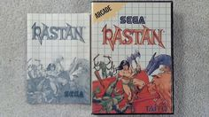Rastan Sega Master System, Game, Instructions and Case are in Excellent condition