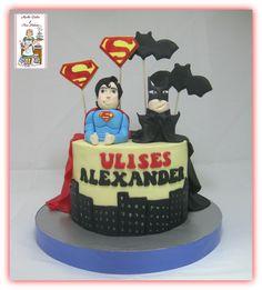 Tarta Batman-superman, Superman-Batman