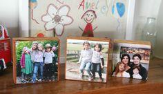Photo Blocks by Cathie Avraam for Mum's Business Love Photos, Family Photos, Diy Photo, Photo Ideas, Project Ideas, Diy Projects, Decor Ideas, Craft Ideas, Photo Blocks