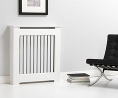 Made to measure modern Radiator Covers from Kingston. Chic, contemporary, bold yet stylish we can make a bespoke radiator cover perfect for your home. Radiator Heater Covers, White Radiator Covers, Modern Radiator Cover, Contemporary Radiators, Contemporary Interior, New Living Room, Living Spaces, Beautiful Bedrooms, Teak