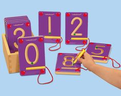 #LakeshoreDreamClassroom : Magnetic Learning Numbers