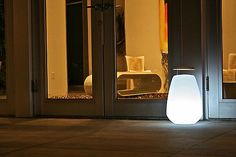 Take your light with you anywhere you go with the Smart & Green Vessel Bluetooth LED Indoor/Outdoor Lamp. This cordless and rechargeable lantern proves its portability with a retractable wood handle on top and a tough, waterproof polyethylene body. Make the atmosphere around Vessel feel romantic or festive with any of its LED lighting effects. To change the color, dimming, scheduling and even have multiple products communicate with each other, simply download the Smart and Green app....