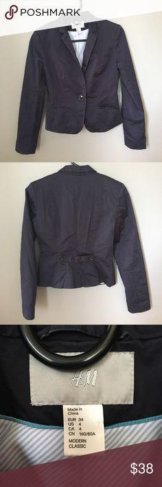 Navy blue H&M blazer Business attire blazer from H&M H&M Jackets & Coats Blazers
