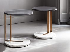 RALF コーヒーテーブル by Meridiani デザイン: Andrea Parisio