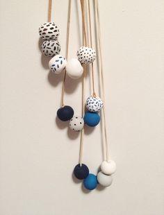 An Indigo Beads DIY - Brika