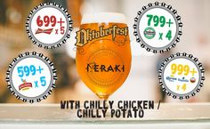 BeerFull #Oktoberfest begins here. Check in at @CafeMeraki for great offers!  #beer #offers #booze #drinkup