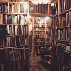 Get lost in a good book(shop). More