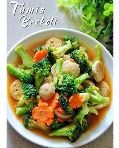 Malaysian Food, Indonesian Food, Indonesian Recipes, Arabic Food, Diy Food, Vegetable Recipes, Food Hacks, Broccoli, Menu