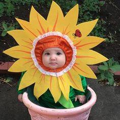 InCharacter Costumes Babyu0027s Silly Sunflower Costume Green/Yellow Medium (12-18  sc 1 st  Pinterest & Sunflower womenu0027s Halloween costume yellow headpiece green wrist ...