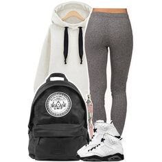 A fashion look from November 2014 featuring Forever 21 activewear pants. Browse and shop related looks.