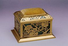 Covered Box Designed by Louis Comfort Tiffany  Tiffany Studios ca. 1905–20