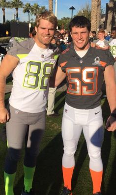 Panthers in the 2015 Pro Bowl. My babes.