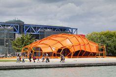 Arquitectura efímera, siempre la más soprendente. La Ville Intelligente de Jakob + MacFarlane.   diariodesign.com