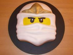 Lego Ninjago Zane on Cake Central