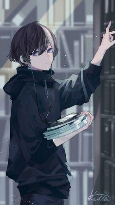 Anime manga _ anime manga _ manga an Anime Chibi, Fanarts Anime, Anime Characters, Manga Anime, Anime Meme, Chibi Boy, Anime Naruto, Chibi Eyes, Sad Anime