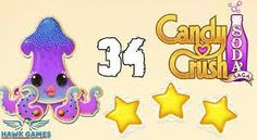 Candy Crush Soda Saga Level 34