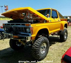 Classic Ford Trucks, 4x4 Off Road, Jeep Parts, Show Trucks, Ford 4x4, Cars And Motorcycles, Cool Cars, Badass, Monster Trucks