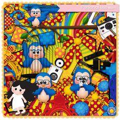 Kit - Olha o Passarinho by Fa Maura [FaMaura_KitOlhaoPassarinho] - $5.60 : FaMaura.com - scrapshop
