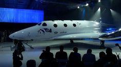 Sir Richard Branson unveils new spaceship
