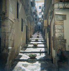 Encore! Life,   ♕   Stairway in Cefalu, Sicily   by © Monica...