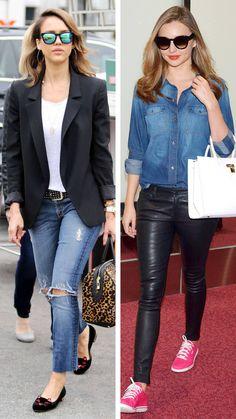 The Style Q&A... Two Ways to Wear Denim  - HarpersBAZAAR.com