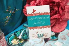 Oh So Beautiful Paper: Spanish Garden Party Save the Dates