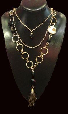 Collar de moda y de piedras naturales.  Hecho a mano, 100% mexicano.  Fashion necklace , hand made, 100% mexican. (venta mayoreo) mas info/ more info: https://www.facebook.com/norinka.joyeria