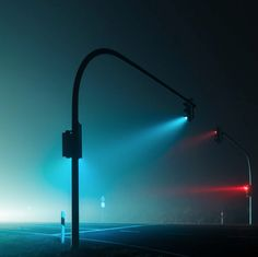Print on Perspex – Misty Road Blue – Andreas Levers - 						The Cool Hunter
