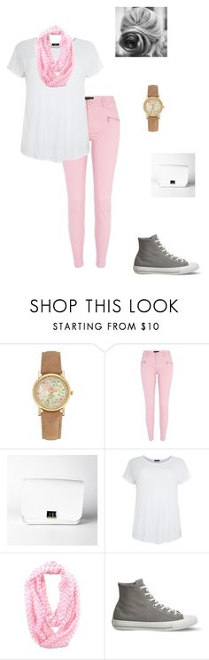 """""""TGIF"""" by modest-flute ❤ liked on Polyvore featuring River Island and Converse"""
