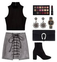 """""""When the world was at war we kept dancing"""" by itsmeambra ❤ liked on Polyvore featuring Balenciaga, Gucci and Versace"""