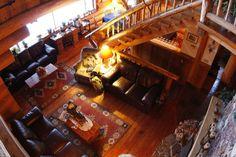 Comfortable, warm accommodations at White Saddle Ranch, Pantheon Heli Skiing, Bella Coola Heli Sports. Saddle Ranch, Ski Canada, Catamaran, Lodges, Wilderness, Skiing, Base, Luxury, Sports
