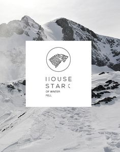 House Stark of Winterfell Eddard Stark, Ned Stark, Sansa Stark, Bran Stark, Game Of Thrones Tv, Game Of Thrones Houses, Winter Is Comming, Valar Dohaeris, Valar Morghulis