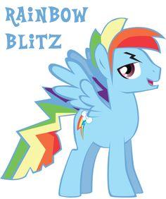 Profile Rainbow Blitz by *Trotsworth on deviantART
