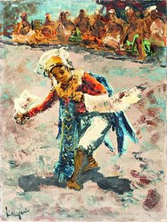 Javaanse Danseres, Sujatno Koempoel (1912-1987)