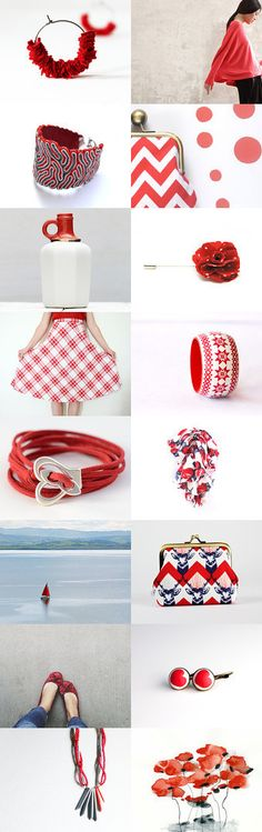 red by Lalla and Luisa Lodetti on Etsy--Pinned with TreasuryPin.com