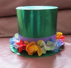 How to make a paper top hat