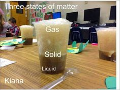 Root Beer Float Science...I always used jello to teach states of matter, but this would be fun, too.