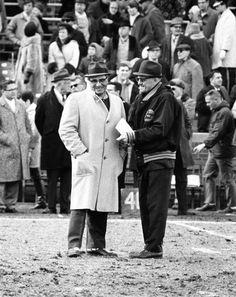 Vince Lombardi and George Halas
