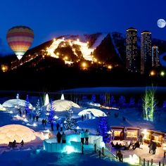 Hokkaido, The Ice Cave | Hokkaido, Japan | Alpha Resort Tomamu