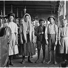 Child factory workers.