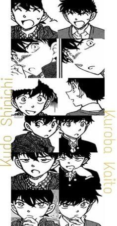 Kudo Shinichi  and Kuroba Kaito